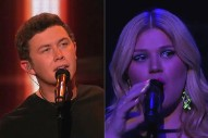 'American Idol': Kelly Clarkson & Scotty McCreery Perform, Lazaro Arbos Says Adios