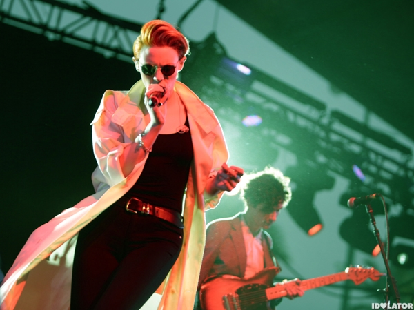 La Roux Go In For The Kill In Indio