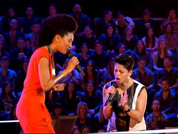 judith hill karina iglesias the voice battle round season 4 2013