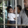 Beyonce Knowles and family have lunch in Paris France