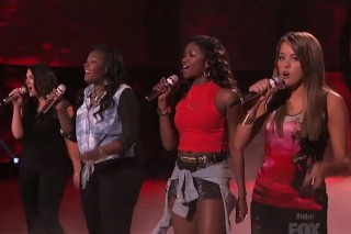 "'American Idol': The Top 4 Girls Are All Safe & They Perform Alicia Keys' ""Girl On Fire"""