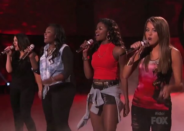 american idol season 12 top 4 girls kree harrison candice glover angie miller amber holcomb