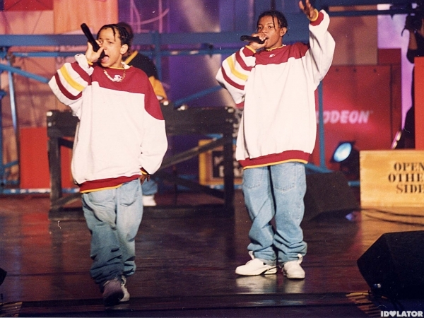 Kris Kross 1993 Kids Choice Awards