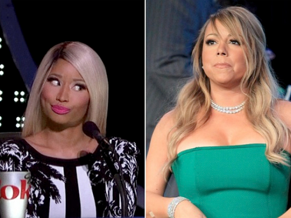 mariah carey fight nicki minaj american idol