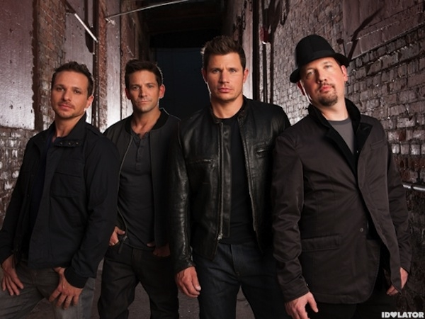 Hangout with 98 Degrees