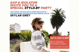 Idolator & Styld.by Invite You To A Party At The Grove, Featuring Skylar Grey