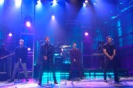 "98 Degrees Perform ""Microphone"" On 'Leno': Watch"
