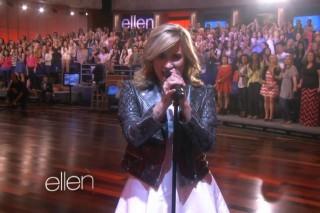 "Demi Lovato Performs ""Heart Attack"" & Talks 'X Factor' Return On 'Ellen': Watch"