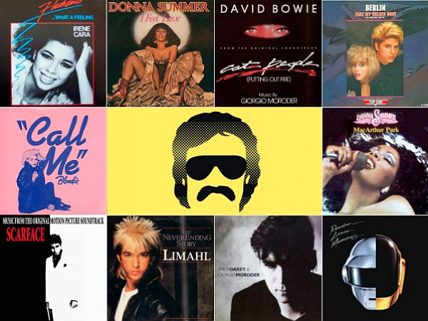 giorgio moroder discgography irene cara donna summer berlin david bowie blondie scarface limahl philip oakey daft punk