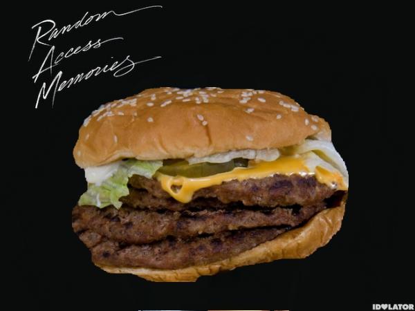 daft punk burger