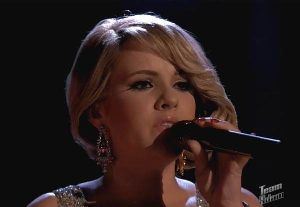 amber carrington skyfall adele the voice may 2013