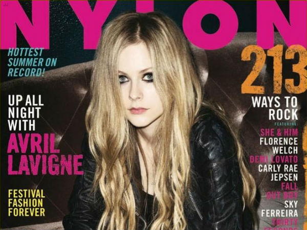 Avril Lavigne 2013 Nylon
