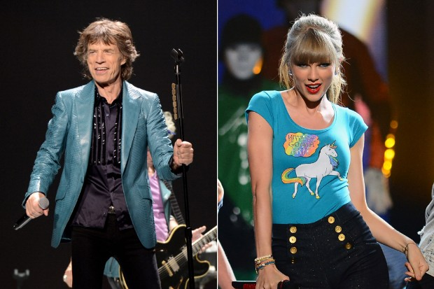 mick jagger taylor swift