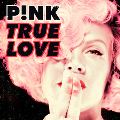 pink true love single cover art