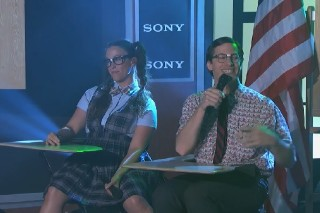 """The Lonely Island & Alanis Morissette Bring """"Semicolon,"""" """"Ironic"""" To 'Jimmy Kimmel' : Watch"""