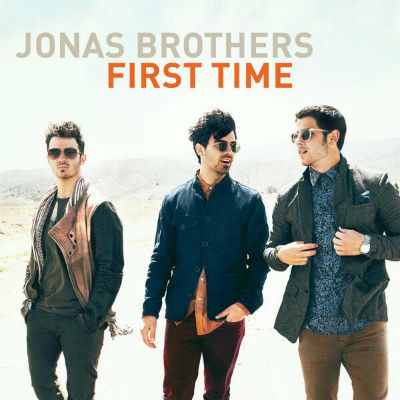Jonas Brothers First Time Single Artwork