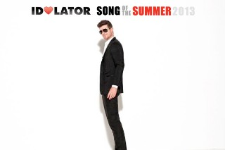 "Will Robin Thicke's ""Blurred Lines"" Be 2013's Song Of The Summer?"