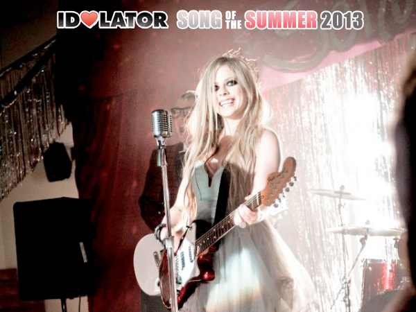 Avril Lavigne Here's To Never Growing Up Song Of The Summer
