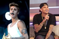 "Justin Bieber & Chris Brown Rap On Asher Roth's ""Actin Up"": Listen"