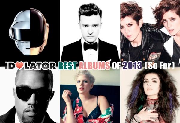 idolator best albums 2013 daft punk justin timberlake tegan sara kanye west betty who charli xcx