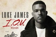 "Luke James Enlists Wale For ""I.O.U."" Remix: Listen"