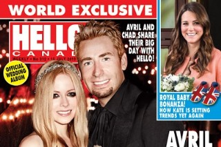 Avril Lavigne Spills On Her Wedding With Chad Kroeger In 'Hello!'