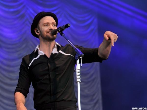 Justin Timberlake performs at Phoenix Park