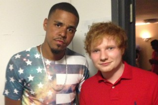 Ed Sheeran Spotted Chilling With J. Cole & Mac M