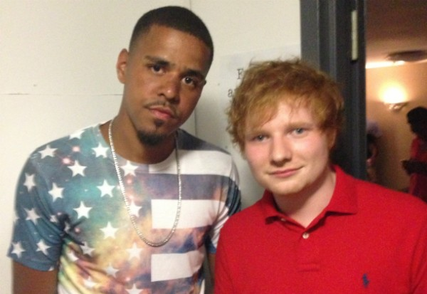 ed sheeran j cole