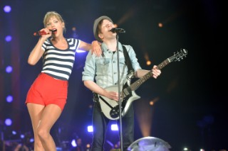 "Patrick Stump Says Joining Taylor Swift On Stage Was ""The Coolest"""