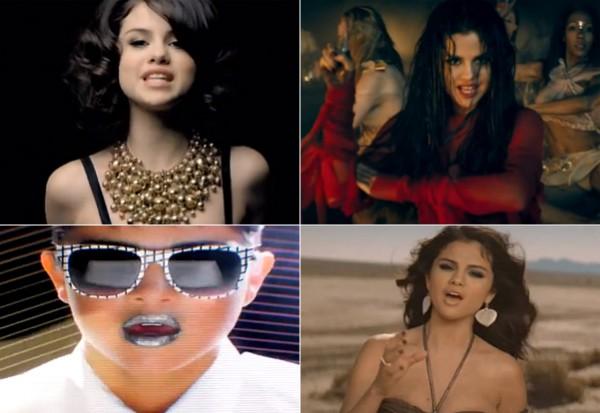 Selena Makes Quite A Scene