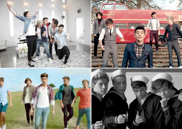 one direction live while we're young best song ever kiss you one thing music videos