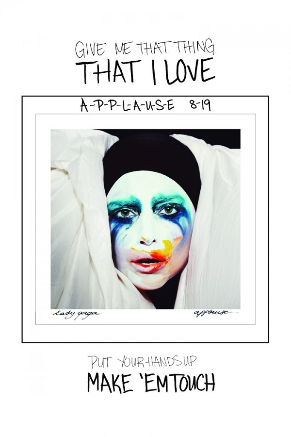 "Lady Gaga Demands ""Applause"" In Lyrics Teaser - idolator 