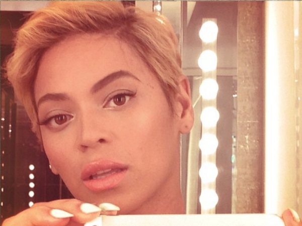 beyonce short haircut new