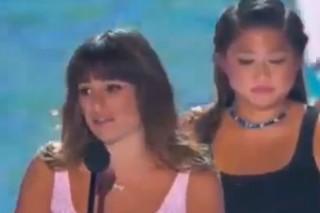 Teen Choice Awards 2013: Watch Lea Michele's Tearful Speech About Cory Monteith