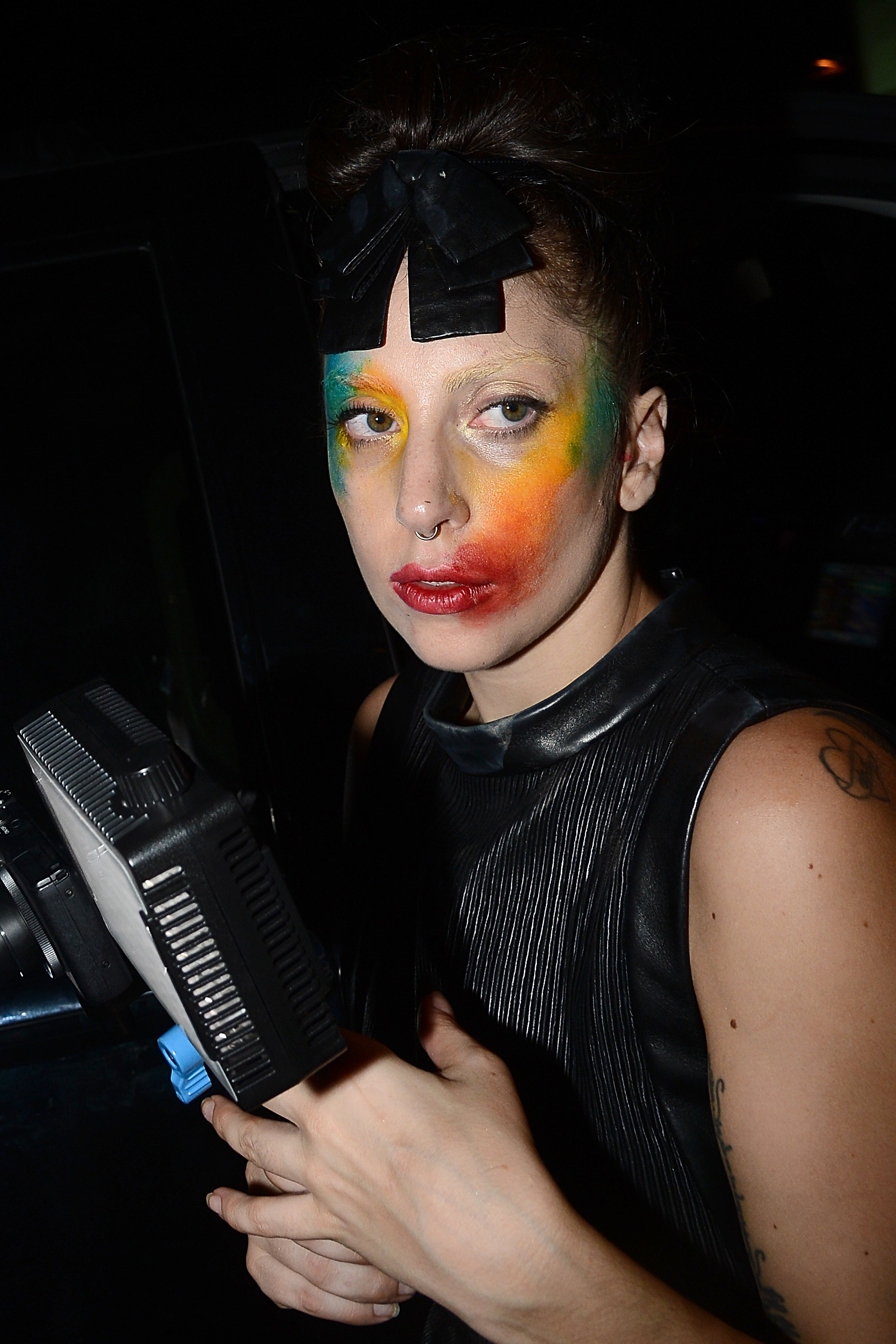 Lady Gaga Leaves Micky S