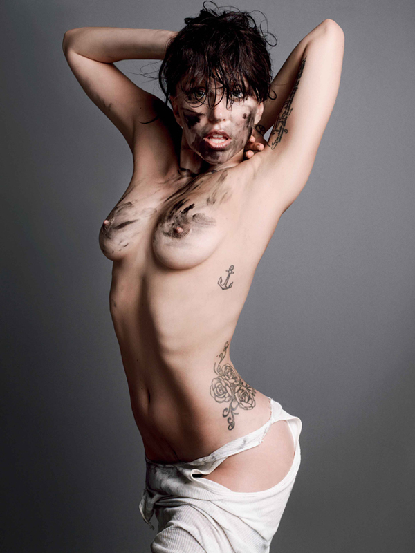 Lady gaga nude playboy