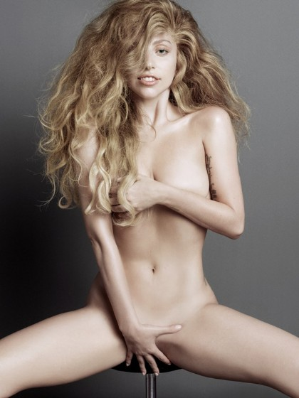 Lady Gaga Is Too Cool For Clothes