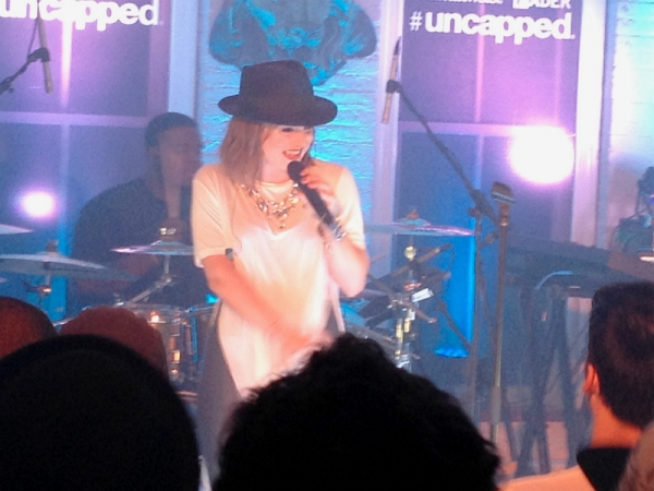 JoJo uncapped fader new york concert performance 2013