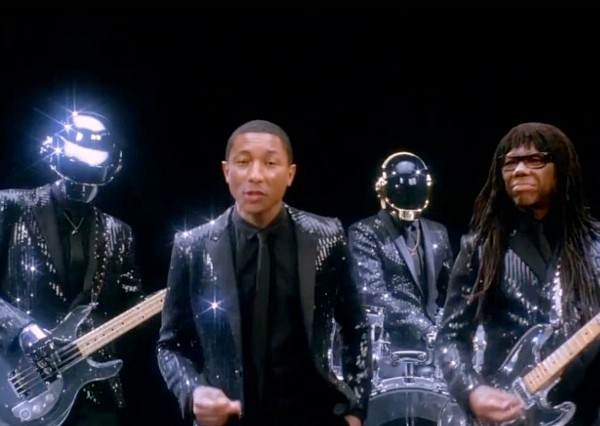 daft punk get lucky pharrell williams nile rodgers