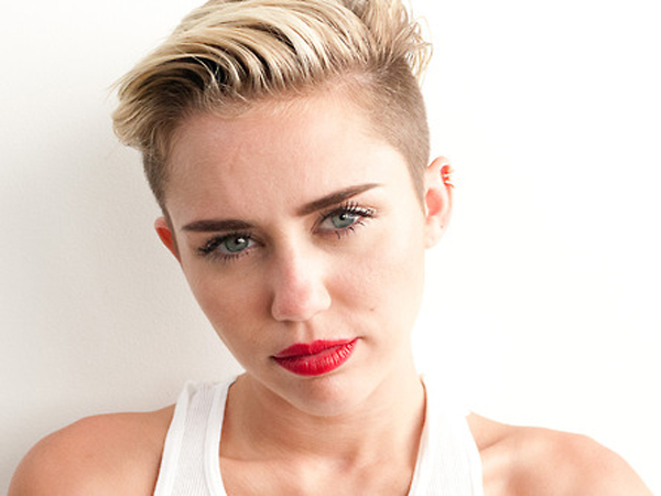 Miley Strips For Terry Richardson