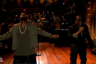 "Watch Kanye West Perform ""Bound 2″ With The Roots, Diss Ray J On 'Late Night With Jimmy Fallon'"