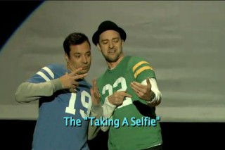 Justin Timberlake & Jimmy Fallon Do The Evolution Of End Zone Dancing: Watch