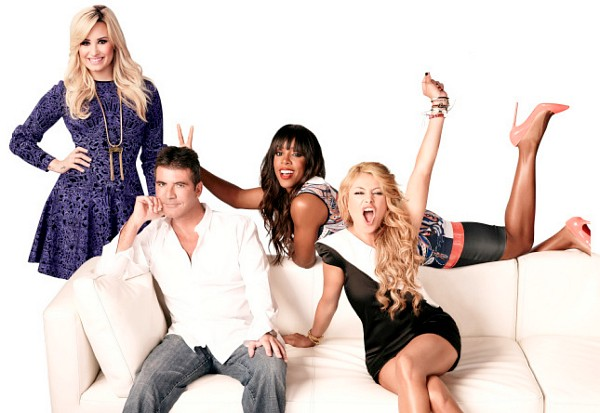 the x factor demi lovato simon cowell kelly rowland paulina rubio season 3 2013