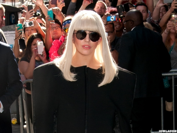 Lady Gaga departs GMA