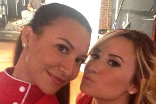 "Demi Lovato & Naya Rivera Cover The Beatles' ""Here Comes The Sun"": Hear The 'Glee' Track"