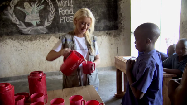 "Christina Aguilera Is The Face Of World Hunger Relief's ""Hunger To Hope"" Campaign: Watch"