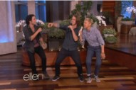 "Ellen Degeneres Teams Up With Ylvis For ""The Fox"": Watch The Hilarious Perfomance"