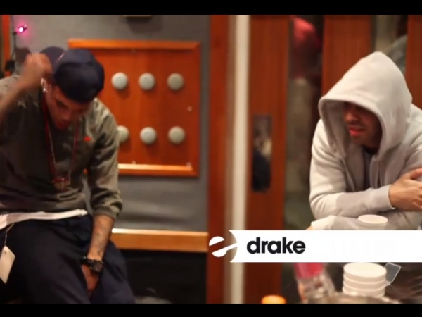 Drake & Chris Brown Were In The Studio Together, Nothing ...