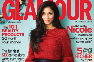 Nicole Scherzinger Is Sophisticated And Chic In 'Glamour' Magazine UK: 6 Pics